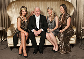 Corporate Event photography, Mike Smith and ANZ staff